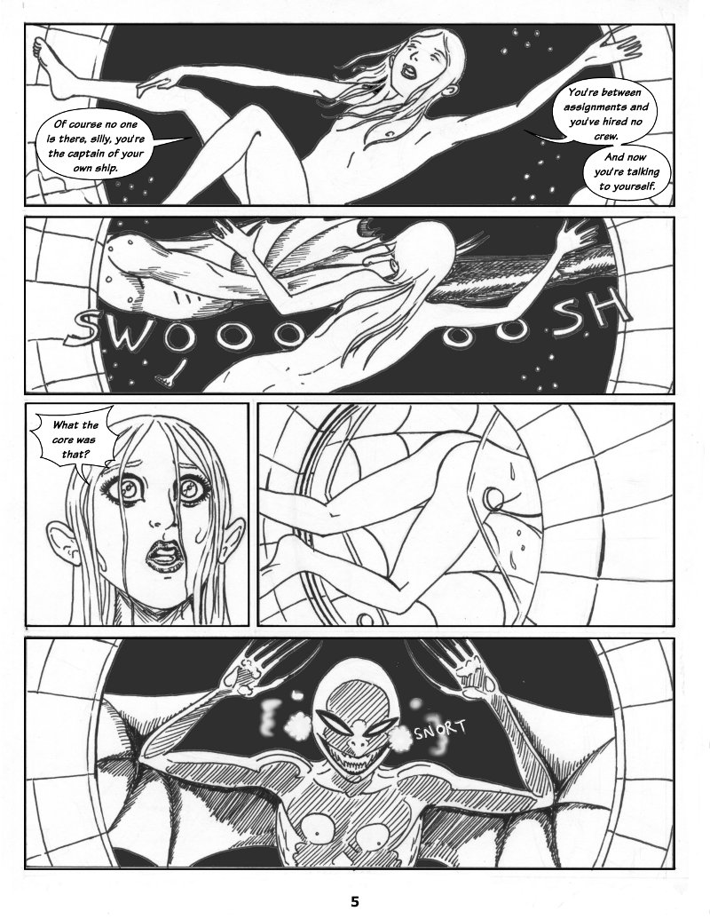 Forsaken Stars Issue One Page 5