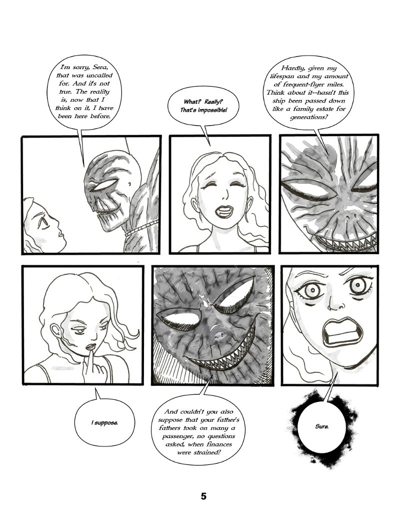 Forsaken Stars Issue Two Page 5