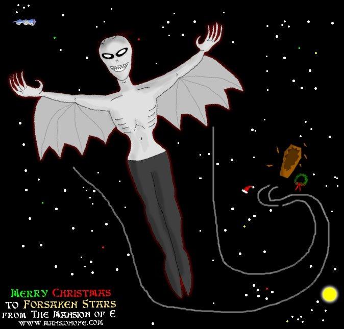 Forsaken Stars Gift Art from Mansion of E