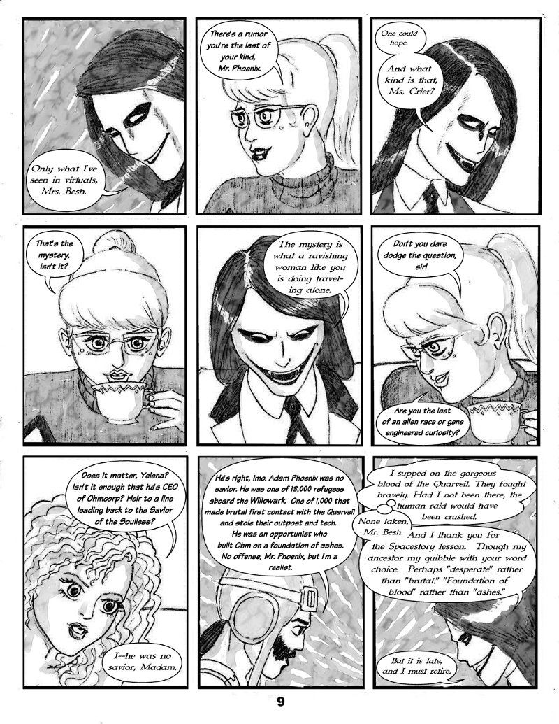Forsaken Stars Issue Two Page 9