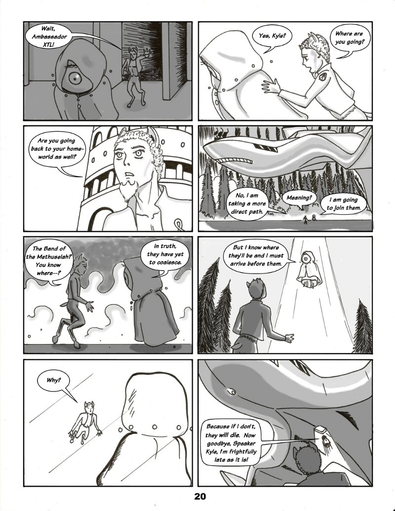 Forsaken Stars Issue Two Page 20