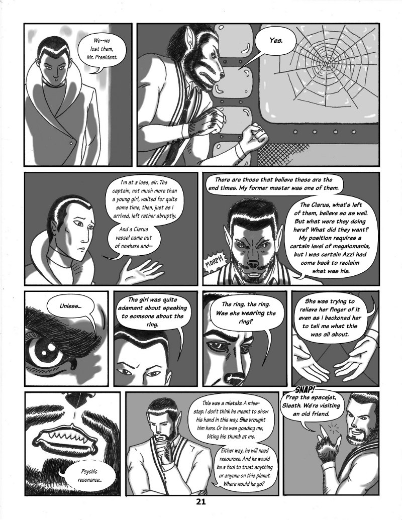 Forsaken Stars Issue Three, Page 21