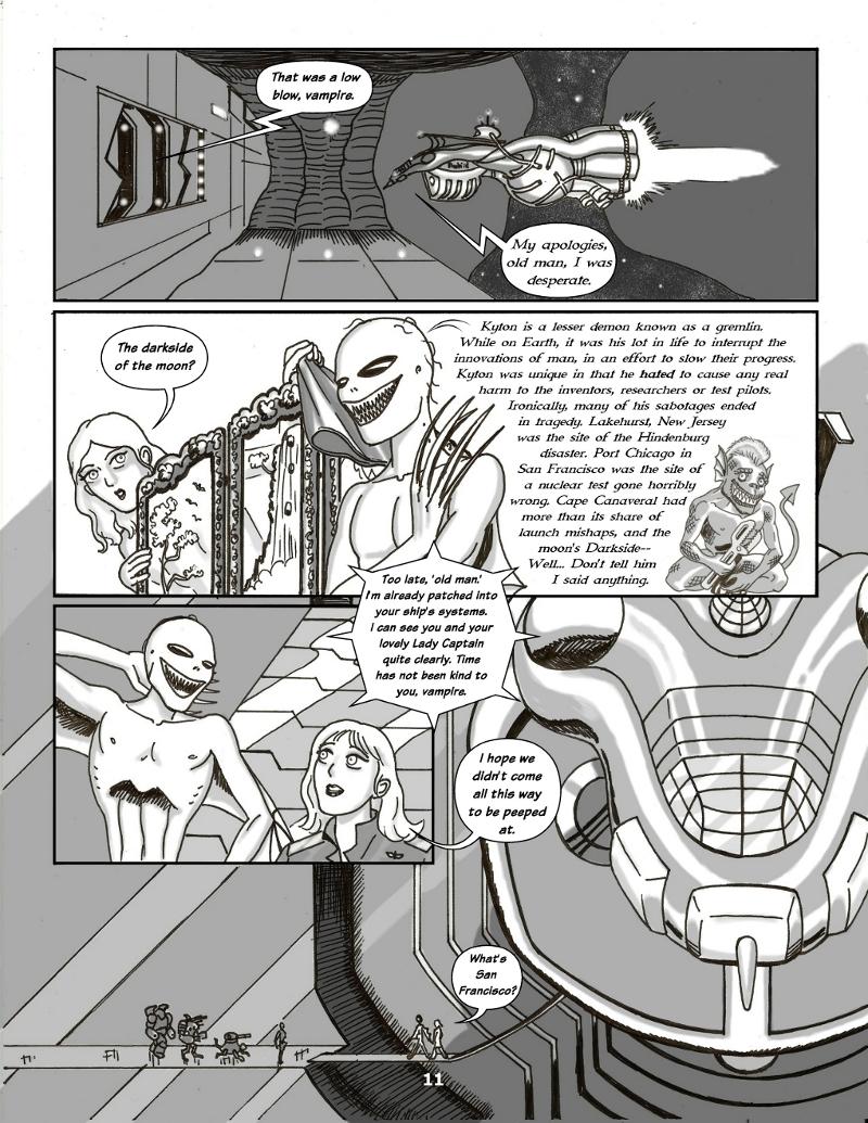 Forsaken Stars Issue Four, Page 11