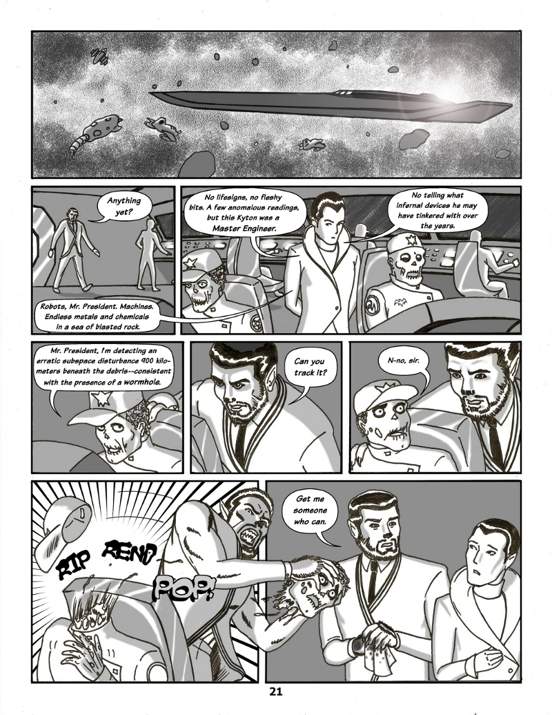 Forsaken Stars Issue Four, Page 21