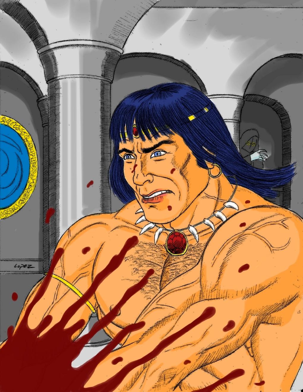 Conan Cimmerian for Darkhorse Art Contest