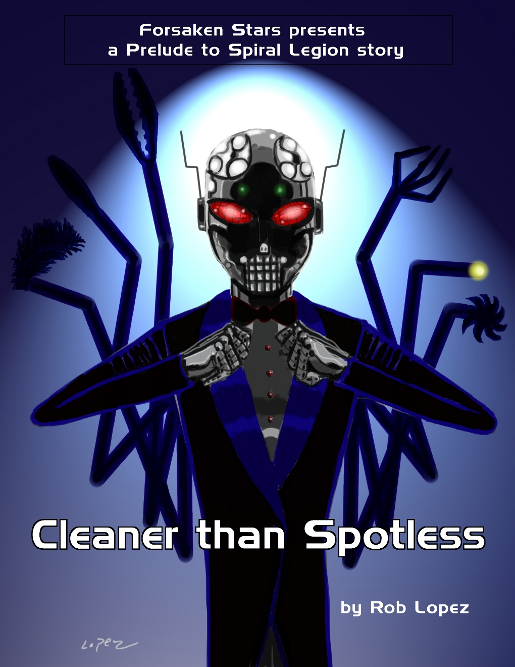 A Prelude to Spiral Legion Story: Cleaner than Spotless