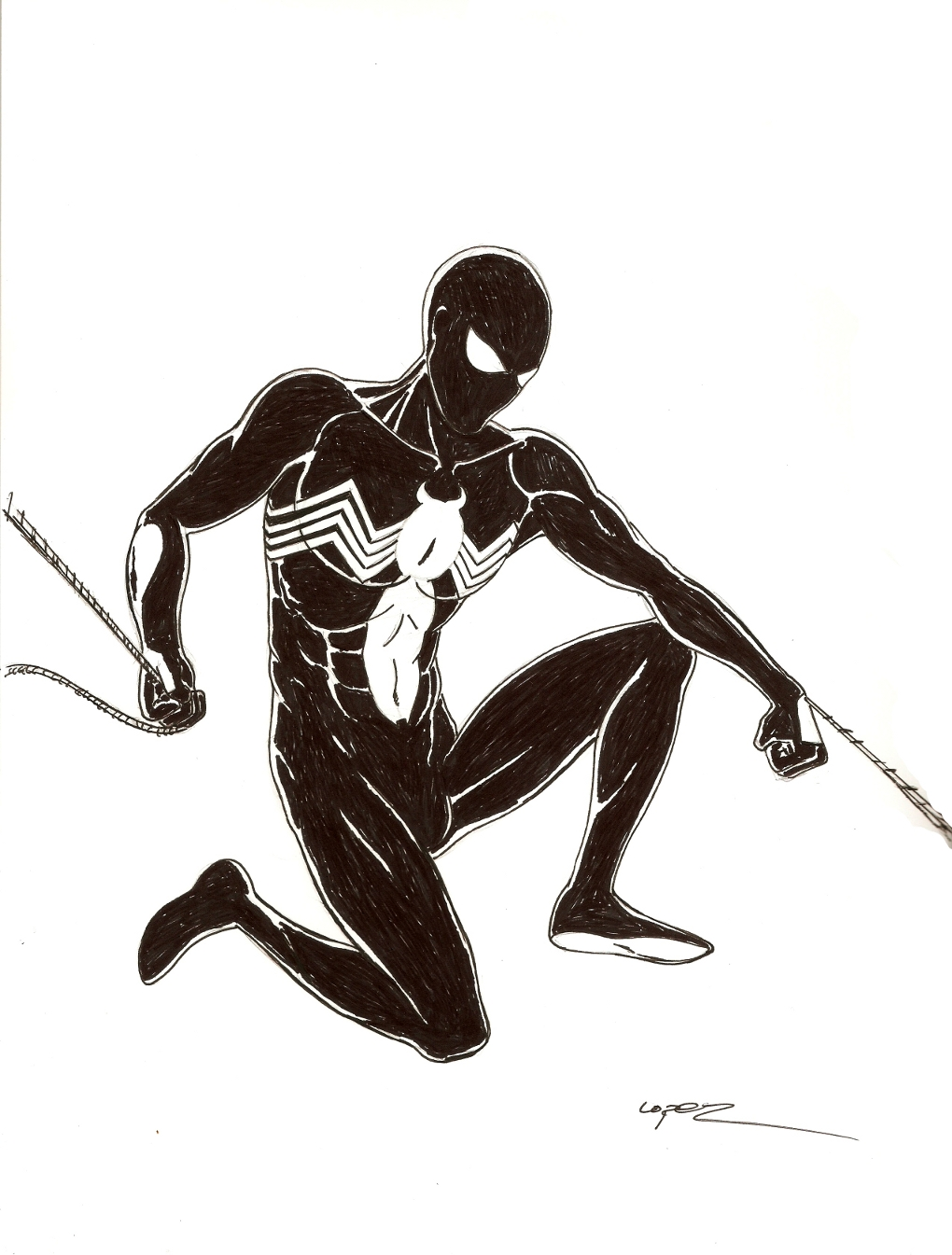 The Amazing Spider-Man In Black