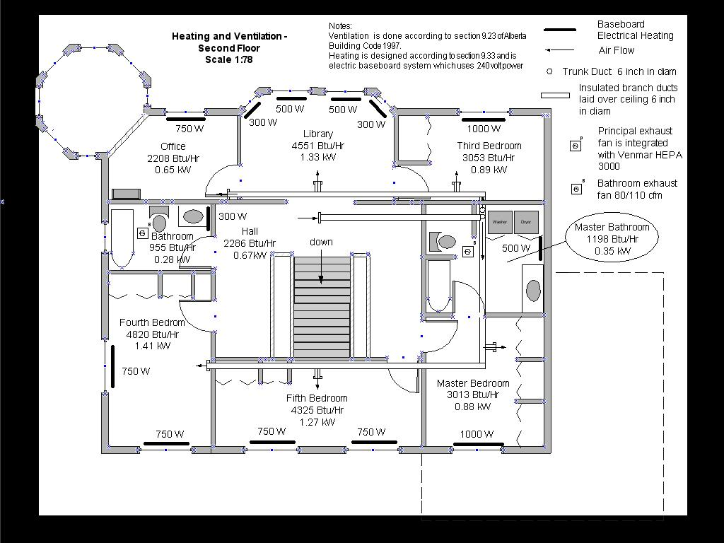 hight resolution of second floor ventilation drawing ventilation and air filtration system