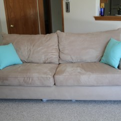 Tan Furniture Sofa Macy S Radley Bed Microfiber Simmons Reviewsover