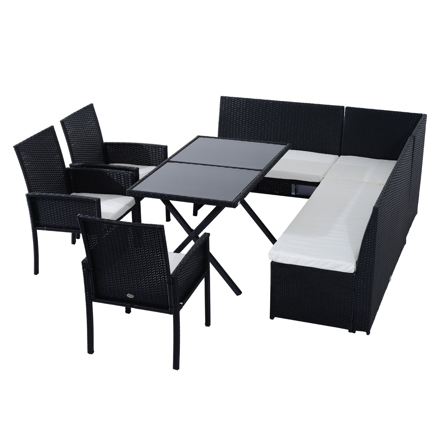Outdoor Sofa And Dining Table