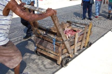 Marktgeschehen in Santiago de Cuba.