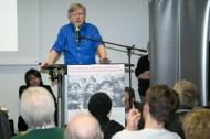 Prof. Dr. Benjamin Ortmeyer beim Vortrag