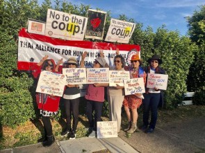 Thai Anti Junta Sydney Protest FORSEA 5