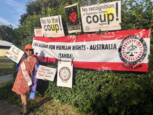 Thai Anti Junta Sydney Protest FORSEA 8