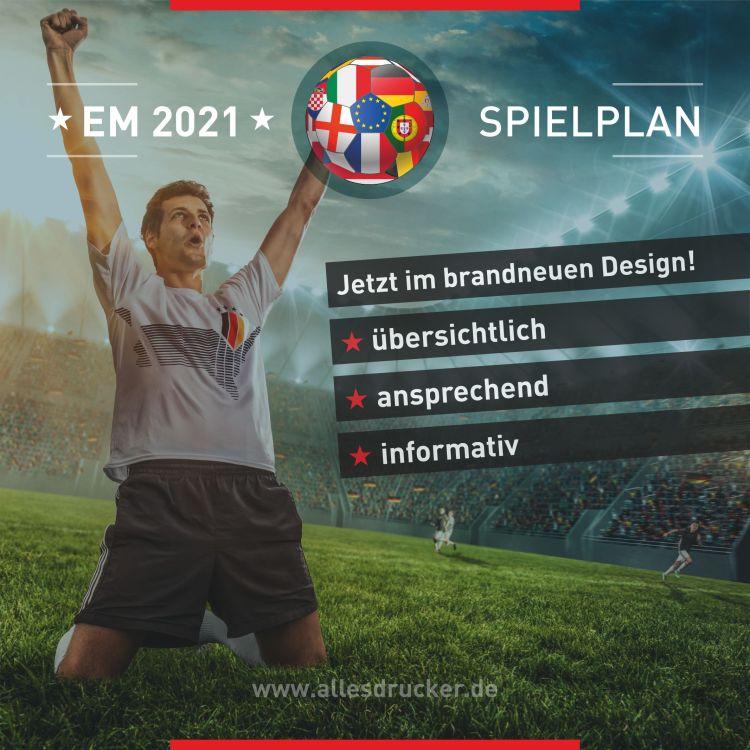 Spielplan EM 2021