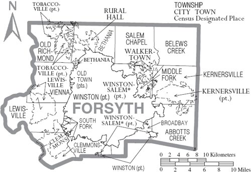 Forsyth County Government North Carolina Officials NC