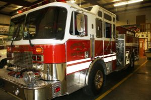 Engine 1 1993 KME Custom Pumper 1500 GPM Hale Pump 500 gallon poly tank w/ 40 gallon foam cell