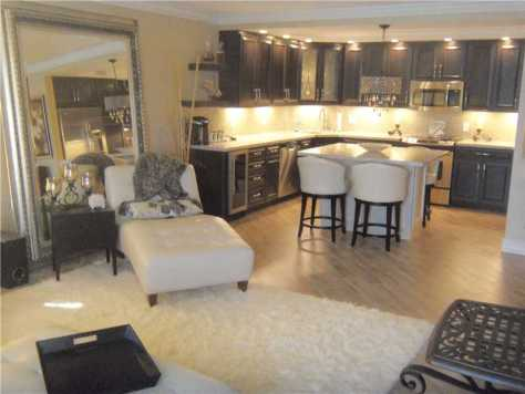 Interior of this condo at Royal Ambassador Fort Lauderdale