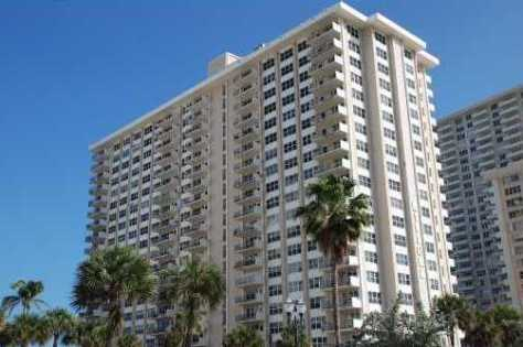 View of The Riviera condominium here in Fort Lauderdale
