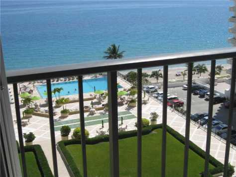 View from a condo just listed for sale in Plaza South