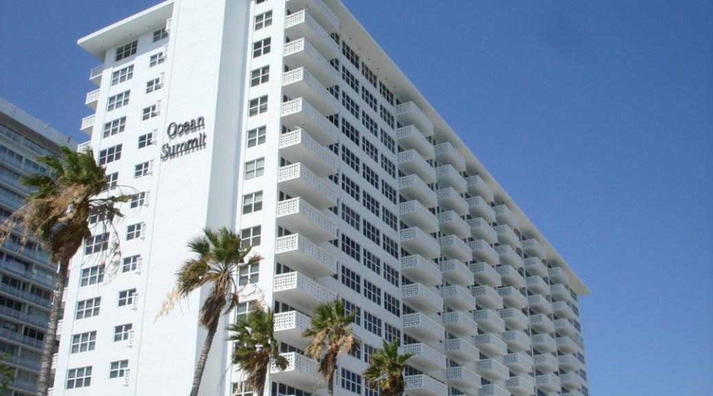 View of Ocean Summit Fort Lauderdale
