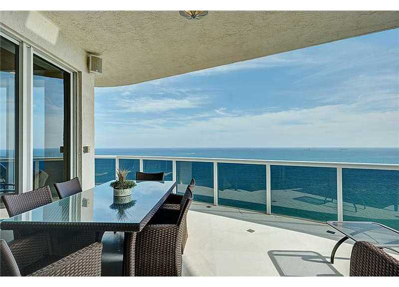 Stunning views from this luxury condo in L'Hermitage Fort Lauderdale