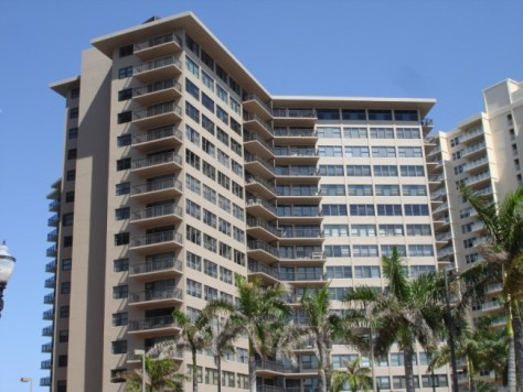 View of Galt Ocean Club condominiums here in Ft Lauderdale