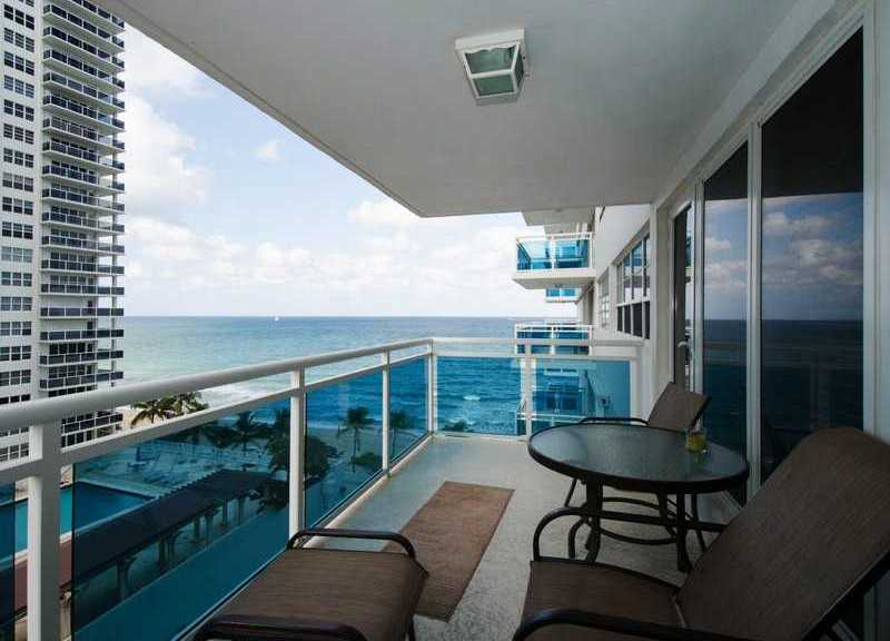 Ocean views from a Commodore Fort Lauderdale condo for sale
