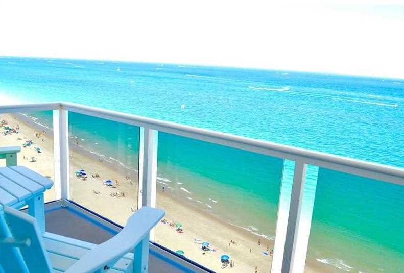 View from one of the Royal Ambassador condos Fort Lauderdale - 3700 Galt Ocean Dr, Fort Lauderdale