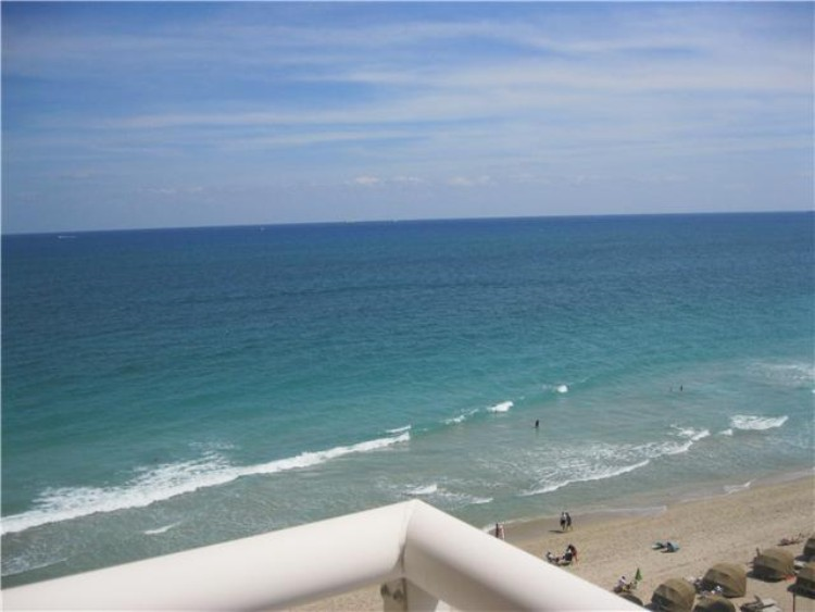 View from a condo for sale here in Regency Tower Fort Lauderdale