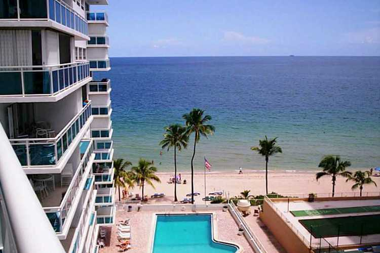 Views from a condo for sale in the Commodore Fort Lauderdale