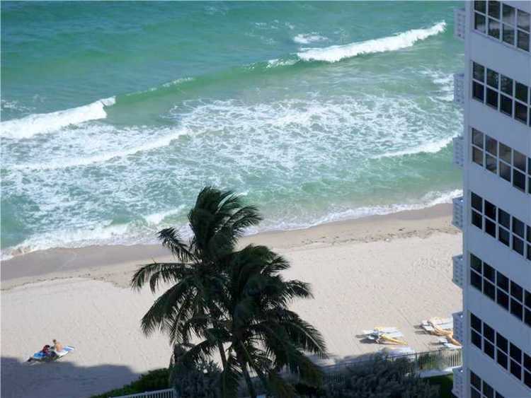 Views from a Fort Lauderdale condo here in Ocean Club