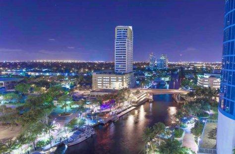 View of a luxury Fort Lauderdale condo sold in Las Olas Riverhouse in 2016
