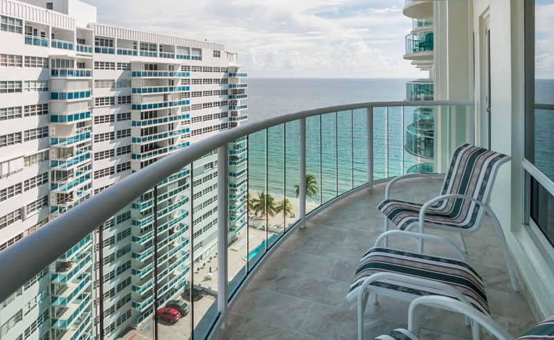 View from a Fort Lauderdale condo for sale here in Southpoint