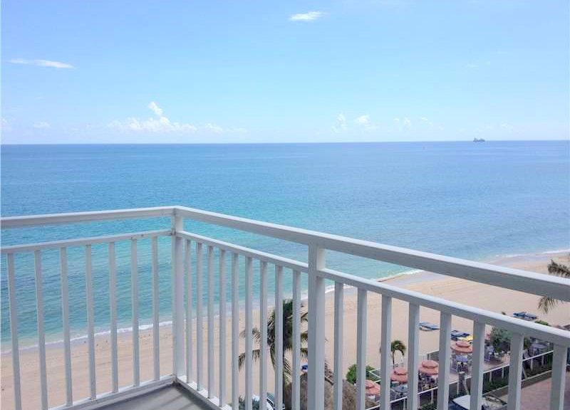 View from a Fort Lauderdale condo for sale here in Regency Tower South