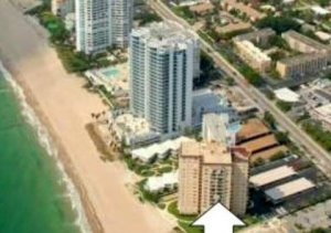 View Fort Lauderdale oceanfront condo for sale seller / owner financing in Leisure Towers