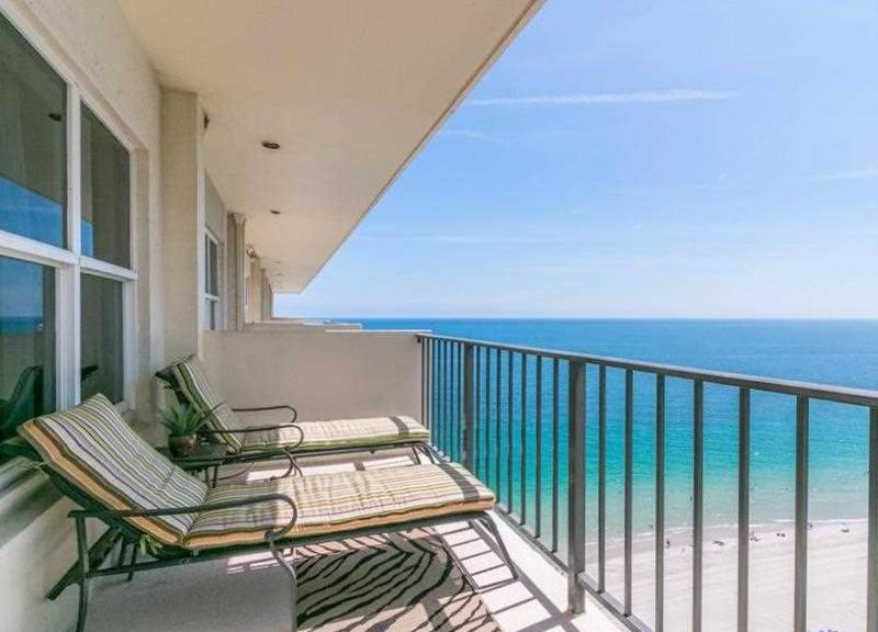 Gorgeous views from one of the Ocean Riviera condos for sale Fort Lauderdale