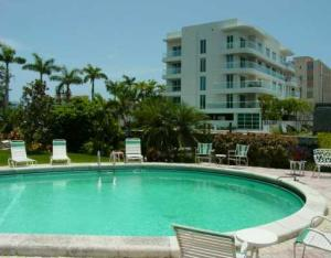 Pool views from a Fort Lauderdale condo for sale seller financing in Las Olas