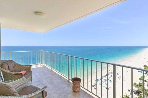View from one of The Galleon 3 bedroom condos for sale Fort Lauderdale