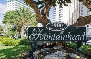 Views of Fountainhead condominium Fort Lauderdale