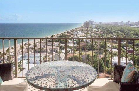 Look at the views from this oceanfront condo for sale Fort Lauderdale
