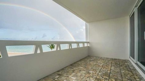 View from a luxury Fort Lauderdale oceanfront condo just listed for sale in Fountainhead