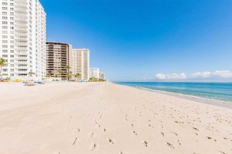 View of Galt Ocean Mile direct oceanfront condos here in Fort Lauderdale
