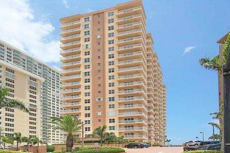 View Regency Tower condominium Galt Ocean Mile Fort Lauderdale