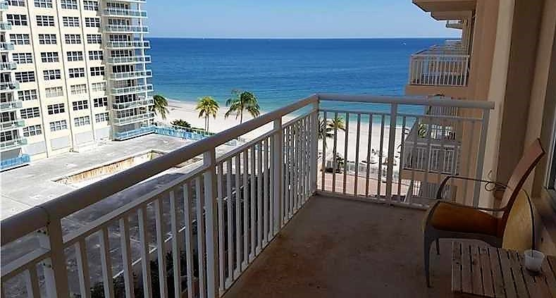 View from Fort Lauderdale condos for sale Regency Tower on Galt Ocean Mile