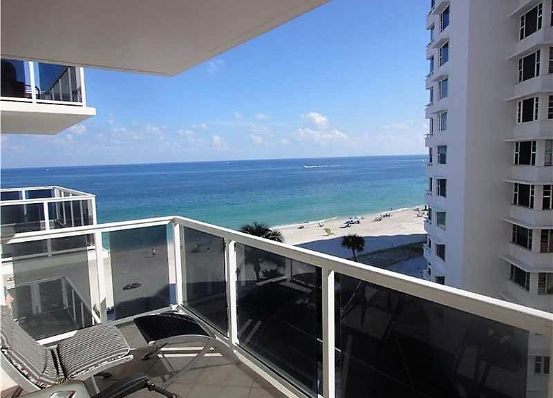 View from Fort Lauderdale condo for sale Royal Ambassador