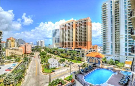 View of Fort Lauderdale condos for sale here in North Beach