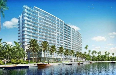 View of luxury Fort Lauderdale condominium - this new construction unit offers a great range of 3-4 bedrooms condos for sale!