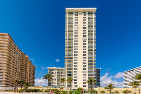 View Playa del Mar condominium Galt Ocean Mile Fort Lauderdale