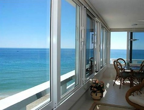 View from 2 bedroom Galt Ocean Mile condo recently sold Edgewater Arms